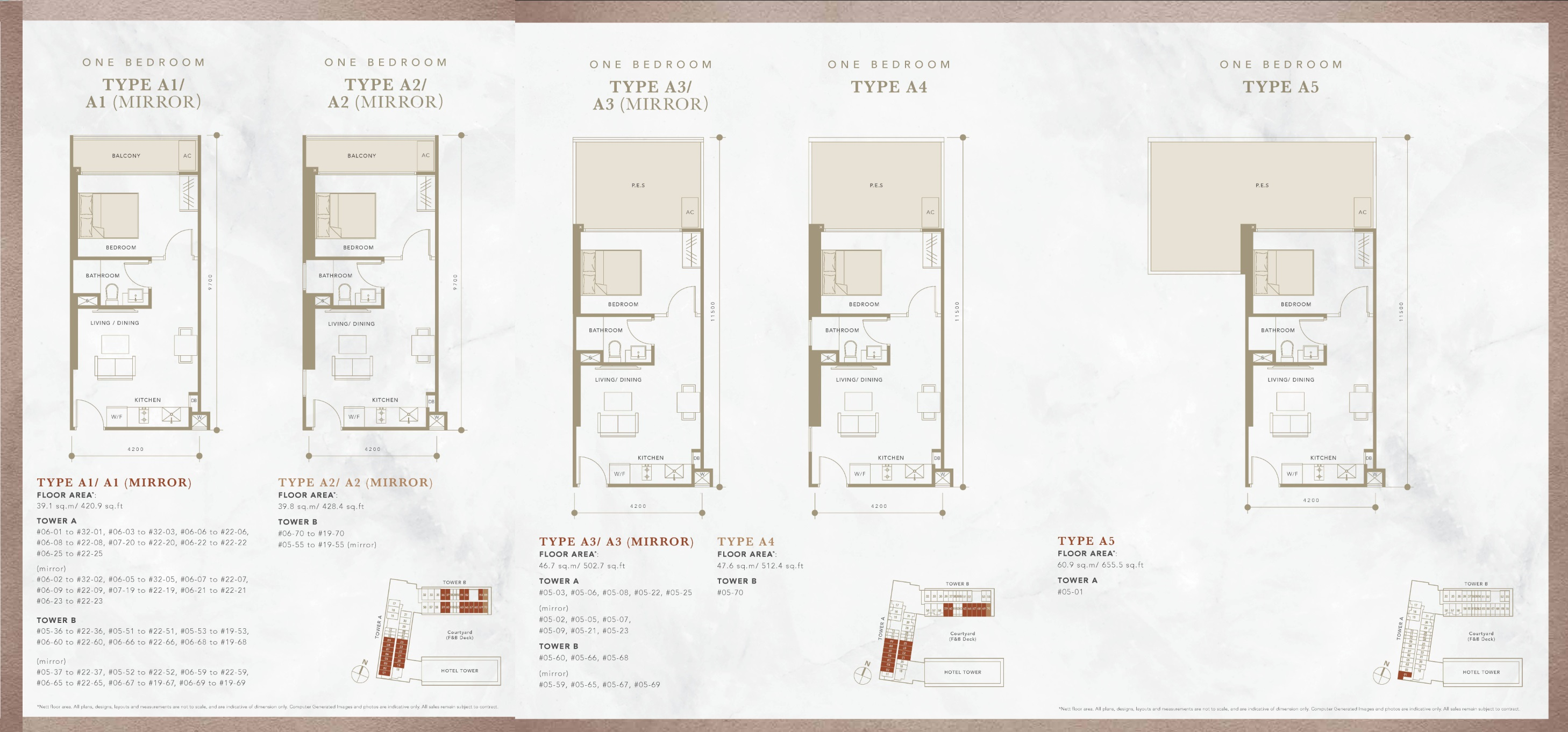 Oxley Convention City Residential 1 Bedroom