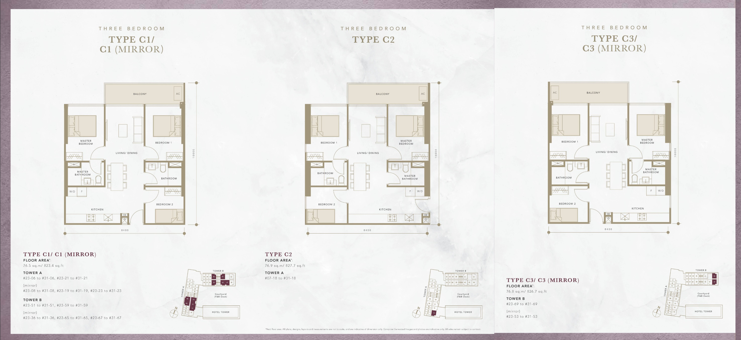 Oxley Convention City Residential 3 Bedroom