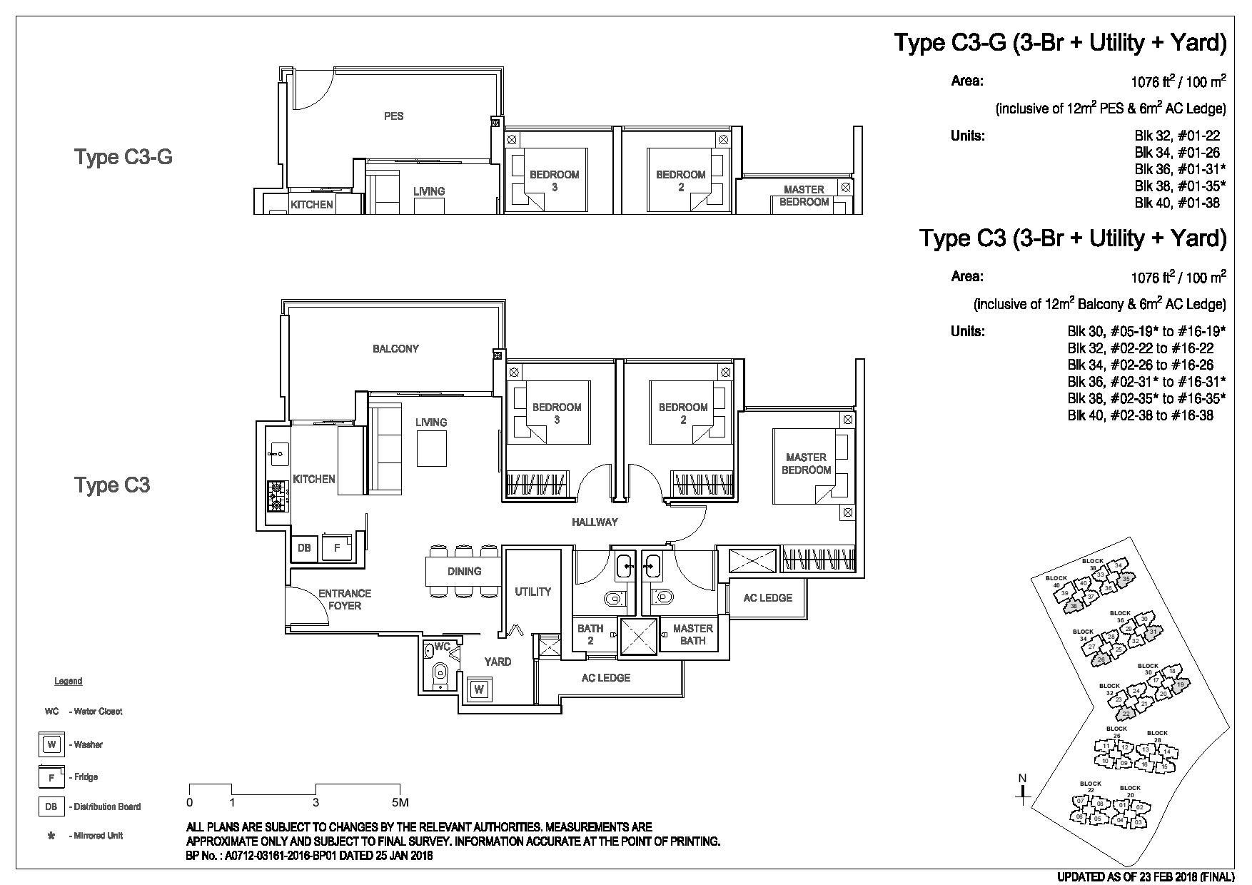3 Bedroom Type C3