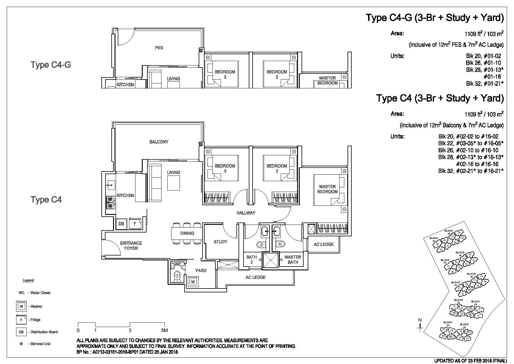 3 Bedroom Type C4