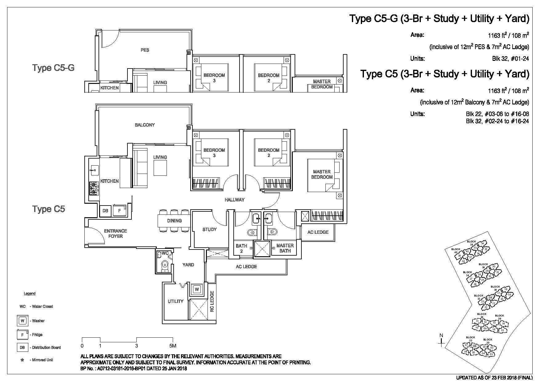 3 Bedroom Type C5