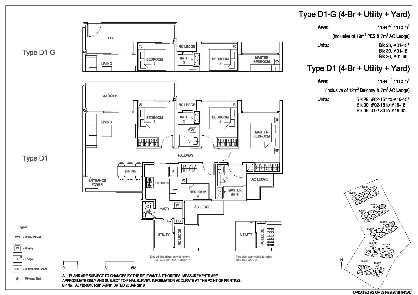 3 Bedroom Type D1