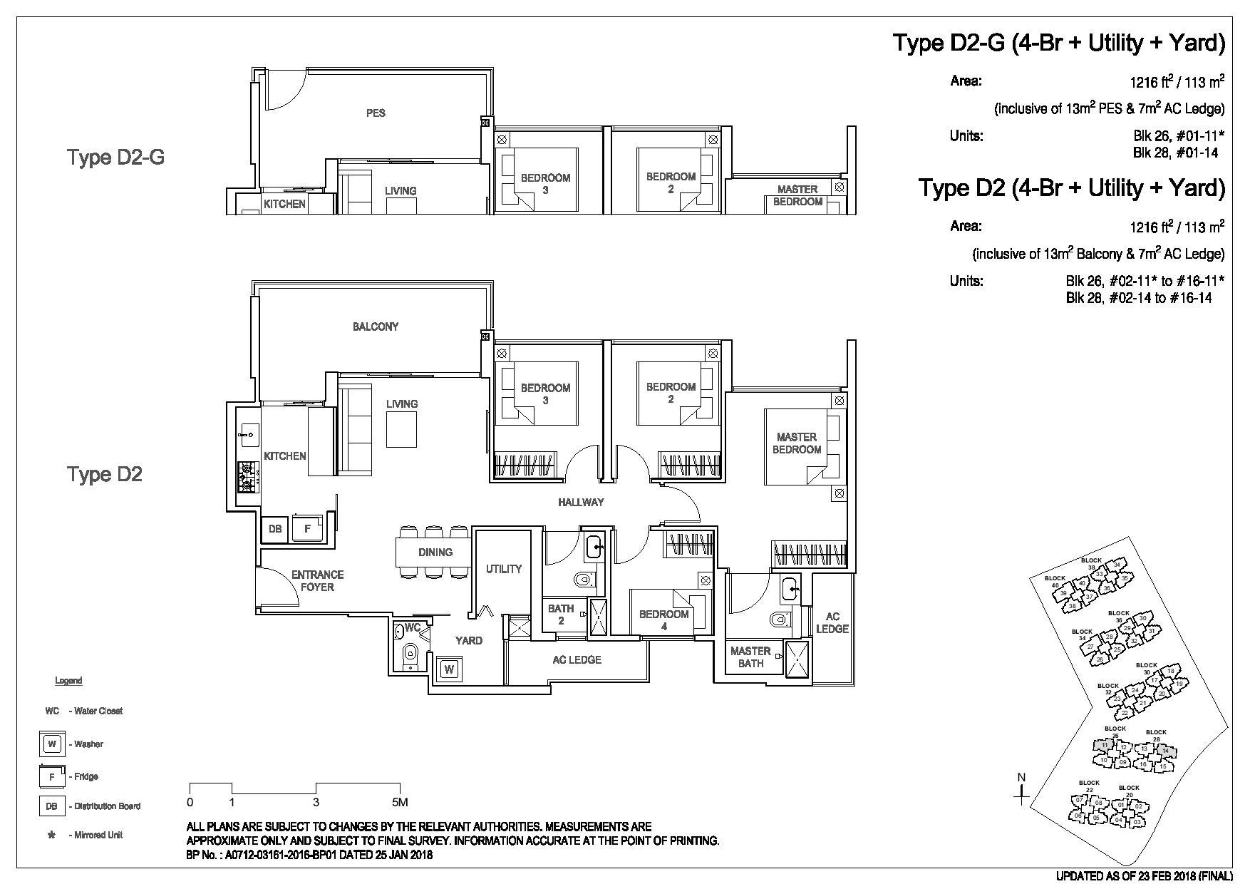 3 Bedroom Type D2