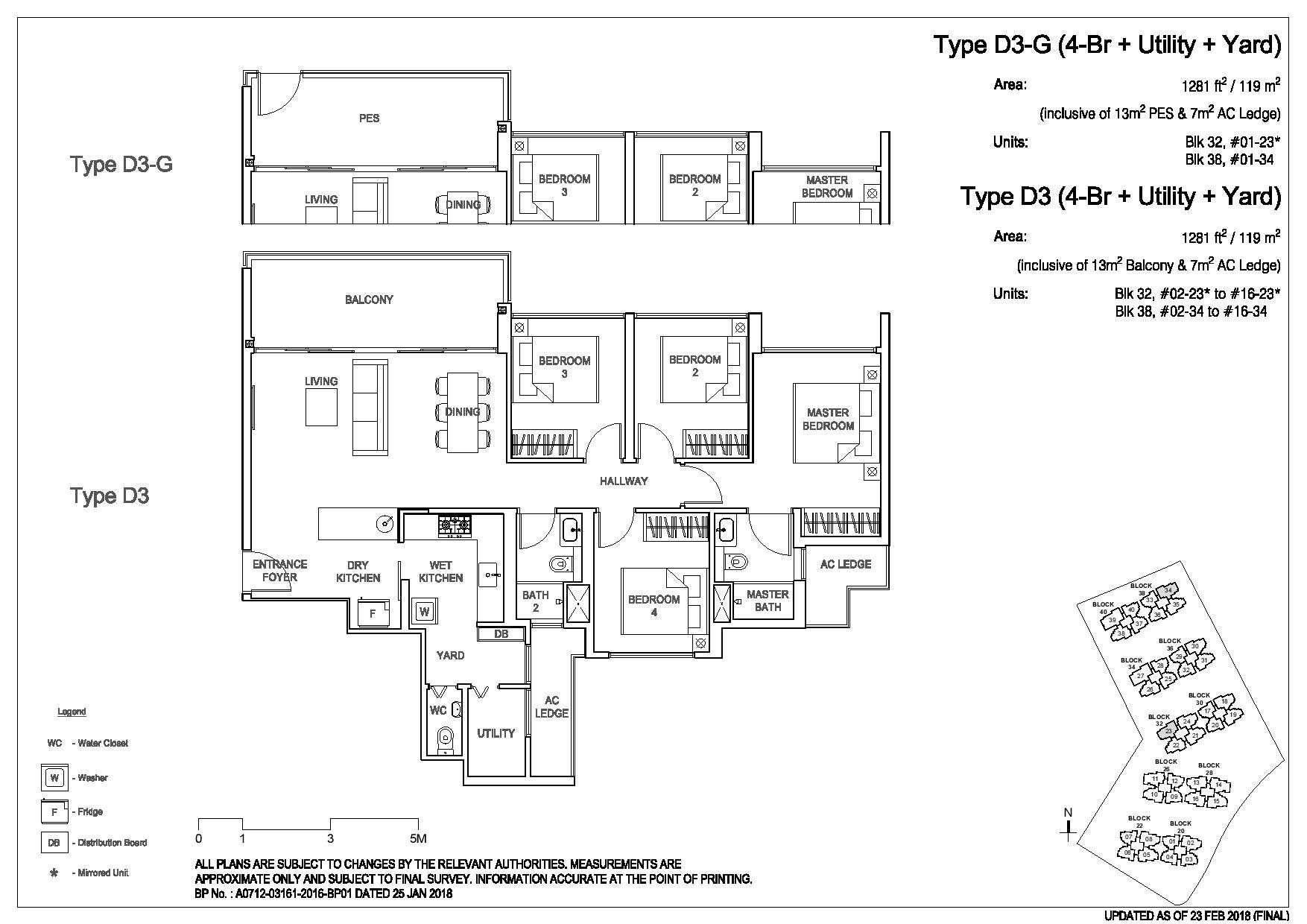 3 Bedroom Type D3