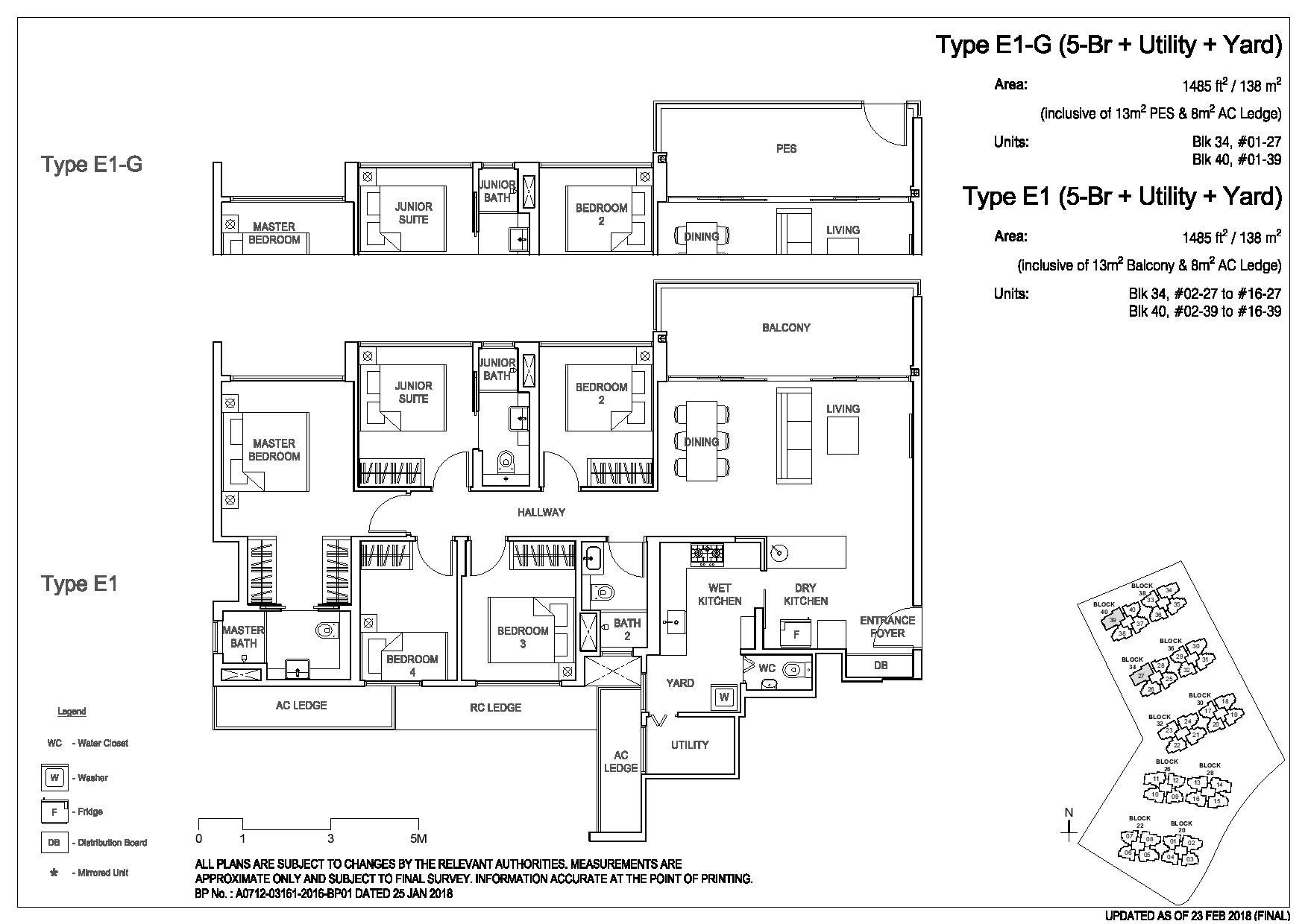 3 Bedroom Type E1